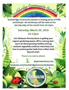 Southbridge Community Garden Workshop and Volunteer @ Southbridge Community Garden Workshop and Volunteer | Wilmington | Delaware | United States