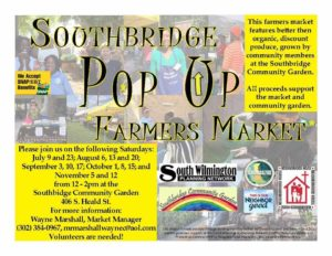 Southbridge Pop-Up Farmers Market and More! @ Southbridge Community Garden | Wilmington | Delaware | United States