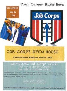 Wilmington Job Corps Open House @ Wilmington Job Corps