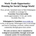 Housing for Social Change Work!